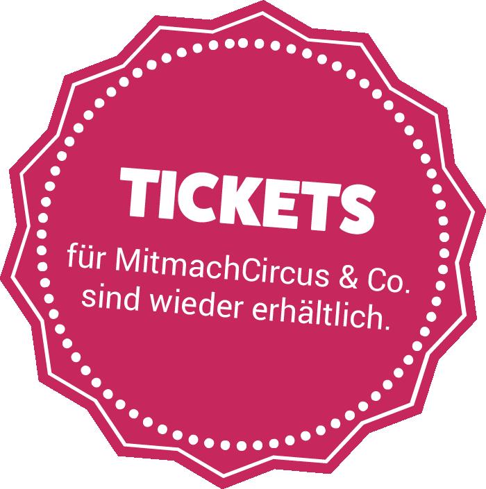 Störer Tickets verfügbar